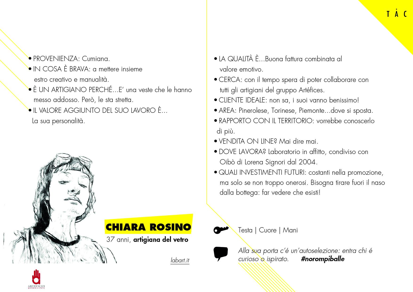 CHIARA ROSINO
